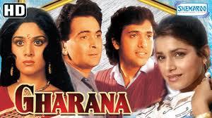 Gharana (1989) (HD & Eng Subs) - Rishi Kapoor | Govinda ...