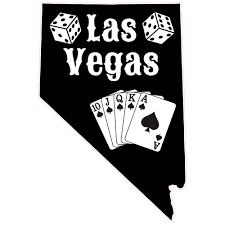 Las Vegas Cards And Dice Nevada Sticker U S Custom Stickers