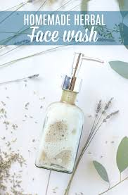 homemade face wash natural herbal
