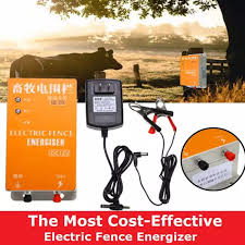 Solar Electric Fence Energizer Controller Charger Animal Raccoon Sheep Cattle Dog Horse Poultry Farm Electric Fencing Two Types Lazada