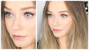 everyday makeup tutorial for pale skin