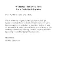 free 5 wedding thank you note exles