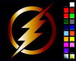 Flash Vinyl Decal Sticker Choose Color Size Justice League Barry Allen Ebay