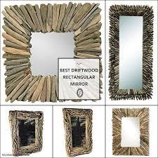 10 best driftwood rectangular mirror