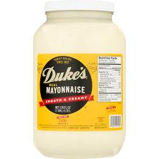 duke s real mayonnaise 128 oz jar