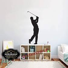 Amazon Com Golf Wall Decal Golf Decals Golf Quotes Decals Sport Wall Decals Vinyl Sticker Room Decal 1664re Home Kitchen