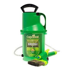Cuprinol Spray And Brush 2 In 1 Pump Sprayer Amp Brush