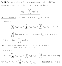 solve system of simultaneous equations