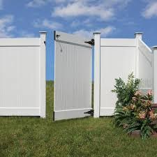Veranda Vinyl Easy To Assemble Fence Gate Kit 73013121 The Home Depot