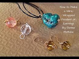 diy wire wrapped bail for bead charms