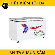 Tủ đông Sanaky 400 Lít Inverter 1 ngăn 2 cánh VH-4099A4K giá chuẩn rẻ, uy  tín Hà Nội