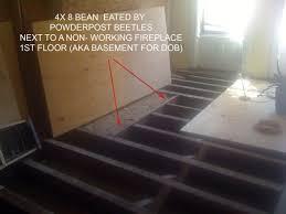 replacing floor joists floor is ready