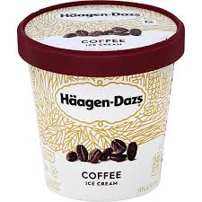 haagen dazs coffee ice cream ice