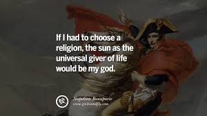 napoleon bonaparte quotes on war religion politics and government