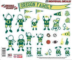 University Of Oregon Decals