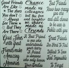 Friends Wine Bottle Stickers Vinyl Decal Silhouette Friend Arts Craft Card Etc Ebay