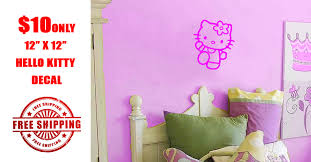 Hello Kitty Wall Decal Home Decor 1 Photo Facebook