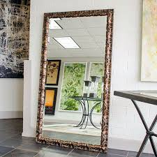 custom sized framed mirrors bathroom