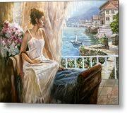 A morning in Italy Painting by Dmitri Kulikov