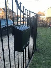 Gate Railings Box Google Search Letter Box Post Box Door Gate Design
