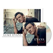 Luke Evans - At Last + Signed Photograph - TM Stores