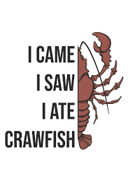 Buy I Came I Saw I Ate Crawfish ...