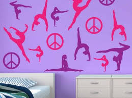 Gymnastics Wall Stickers Gymnastic Wall Decals