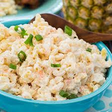 hawaiian macaroni salad y