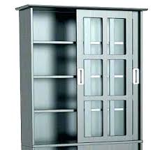 black cabinet with glass doors joefw