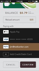starbucks mobile order pay