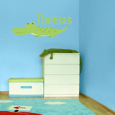 Personalized Printed Alligator Wall Decal Wall Decal World