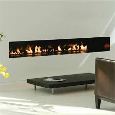 linear wood stove fireplace burner from
