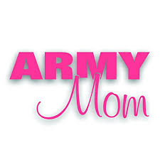 Solar Graphics Usa Army Mom Decal For Patriotic Military Armed Forces Us Family Car Windshield Or Bumper Sticker 5 3 4 X 10 1 2 Inch In Pink Buy Online In
