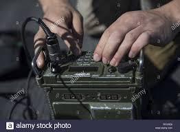 ARABIAN SEA (Feb. 16, 2019) U.S. Marine Corps Sgt. Wesley Hansen, a radio  operator with the