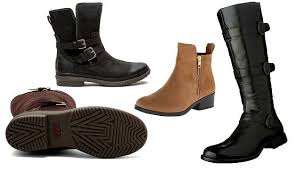 leather boots for the rain and snow