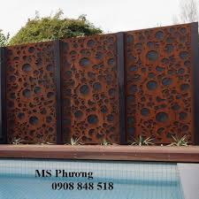 Cnc Iron Fences In 2020 Steel Fence Panels Fence Art Metal Fence