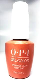 opi soak off gelcolor gel nail polish