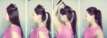 Sposob Na Kucyka Odbitego U Nasady Hair By Jul Fryzury Krok Po