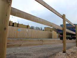 Nailed Half Round Post And Rail Fencing Jacksons Fencing