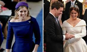 Royal Wedding Princess Beatrice Reading What Was Beatrice S Reading At Eugenie Wedding Royal News Express Co Uk