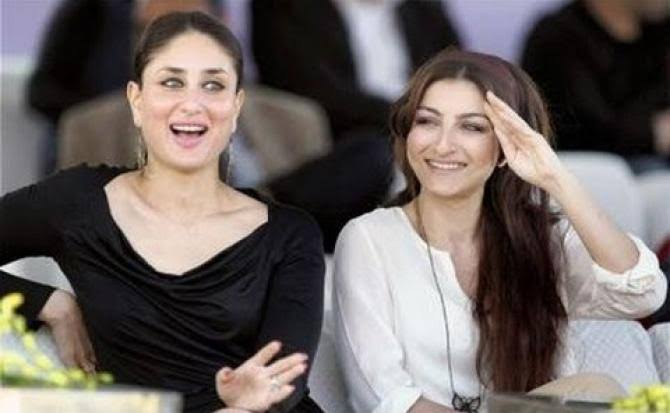 Image result for Kareena Kapoor and Soha Ali""