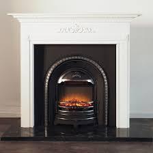 montreux mantel with regent fireplace