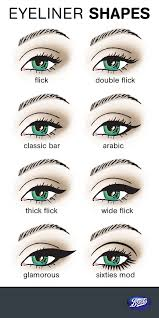 right eye makeup for eye shape cat