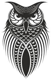 Royal Owl Wall Sticker 44 X71 Contemporary Wall Decals By Masquevinilo