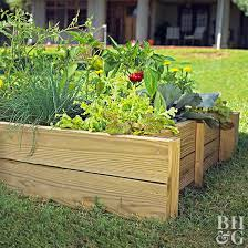 i put at the bottom of a raised bed