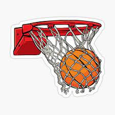 Basketball Hoop Stickers Redbubble