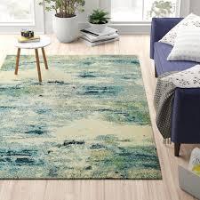 chenango power loom light blue rug