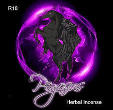 Black Pegasus Herbal Incense - Intense and Long Lasting Herbal High