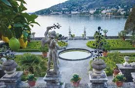 Fotografie dei giardini dei laghi Maggiore e di Como