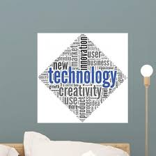 Technology And Creativity Concept Wall Decal Wallmonkeys Com
